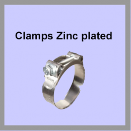Clamps-Zinc-plated